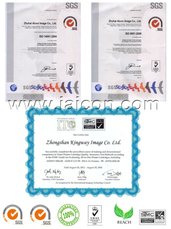 Certification  from Aicon