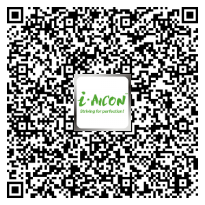 contact aicon by scaning Barcode