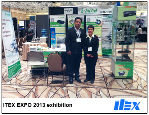 Some Pictures about ITEX EXPO 2013 exhibition from aicon