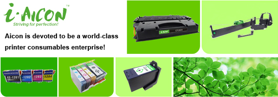 high quality  and low price toner cartridge,inkjet cartridge,CISS,ribbon  printer,copier cartridge,inkjet paper form Aicon