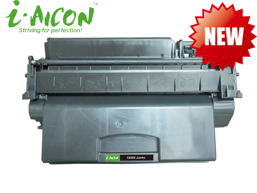 Compatible toner cartridge for HP CE505 Jumbo 10,000 page yield