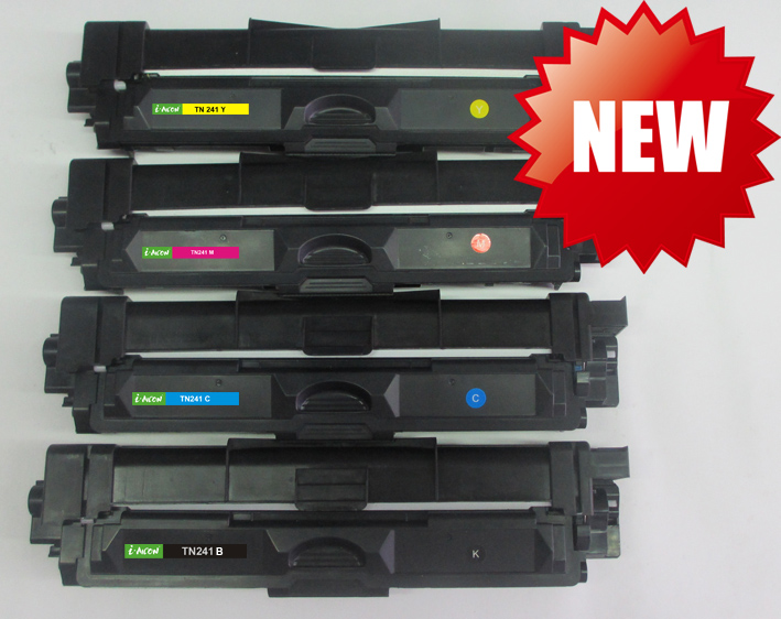 Color toner cartridge for Brother TN241 BCMY is coming soon