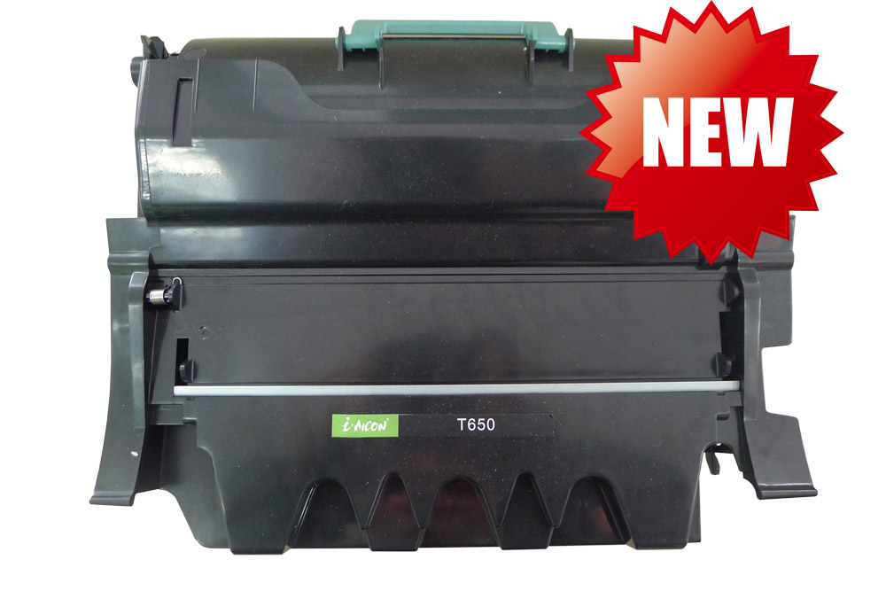 Compatible toner cartridge for Lexmark T650 with APEX Chip Replacement From Acion
