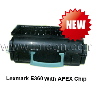 Compatible toner for Lexmark E360 with APEX Chip