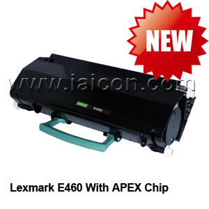 Compatible toner for Lexmark E460 with APEX Chip
