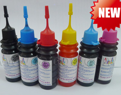 Easy refill 30ML ink bottle