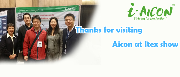 Thanks for visiting Aicon at Itex show 2014
