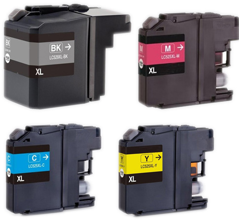 Compatible Brother LC529XL/LC525XL ink cartridge