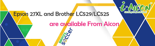 Epson 27XL and Brother LC529LC525 are available From Aicon