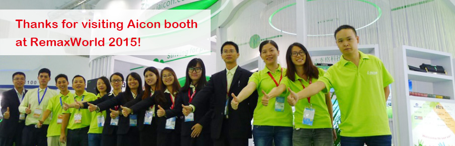 Thanks for visiting Aicon booth at RemaxWorld 2015.