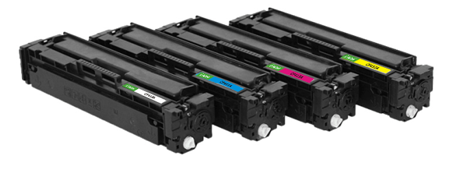 HP CF410A-CF413A color toner cartridge