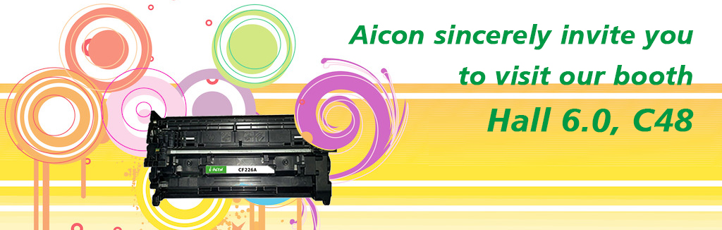 Aicon sincerely invite you to visit our booth Hall 6.0, C48.